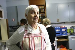 –Vi riktar oss inte bara till de hemlösa utan till alla behövande som har det svårt i Gävle, säger Ann-Marie Tapper från Röda korsets Bomhuskrets.
