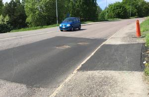 Nu kommer vägen att asfalteras om inom den närmaste veckan, lovar kommunen.