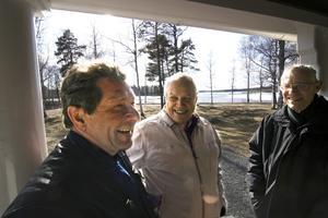 Nu tar föreningarna ett gemensamt tag för att lyfta Gyttorp, berättar Håkan Kangert ridklubben, Bengt Blendulf byalaget och Hans Eliasson veteranjärnvägen.