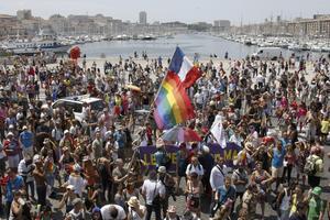 Europride hölls i år i franska Marseille.