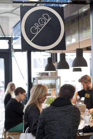 Grød, grötbaren som har blivit sådan succé att den numera finns på tre ställen i Köpenhamn.   Foto: Annika Goldhammer