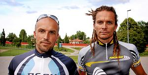 Mirre Eriksson och Jonas Wincent. Foto: Mikael Stenkvist