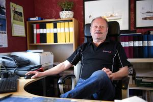 Stefan Lindström är mannen bakom motormuseet i Indal.