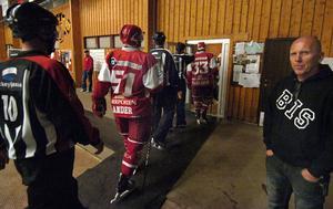 Danne Nordin, Bollnäs IS, var nöjd med kvällen och lovar att Hockeynight ska bli en årlig tradition.