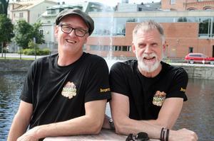 Nipyrans festivalgeneraler, Jörgen Åslund och Leif Lundberg.