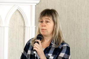 Maria Gradin, chef för neonatalavdelningen på USÖ, berättar om hur sjuka och för tidigt födda barn tas om hand där.