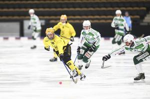 Martin Landström gjorde Vetlandas första mål i 6–4-segern mot VSK.