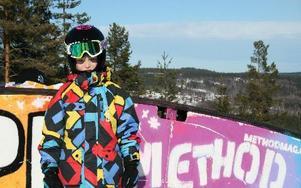 Algot Klingström, 6 år, var yngst i startfältet och gjorde sin första tävling.