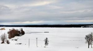 Här i Vattviken utanför Hoverberg vill Wangensten fisk utöka sin fiskodling.