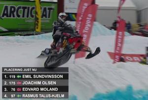 Emil Sundvinsson vann i överlägsen stil.