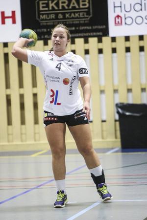 Elin Nygårds blev sjumålsskytt mot Boden.