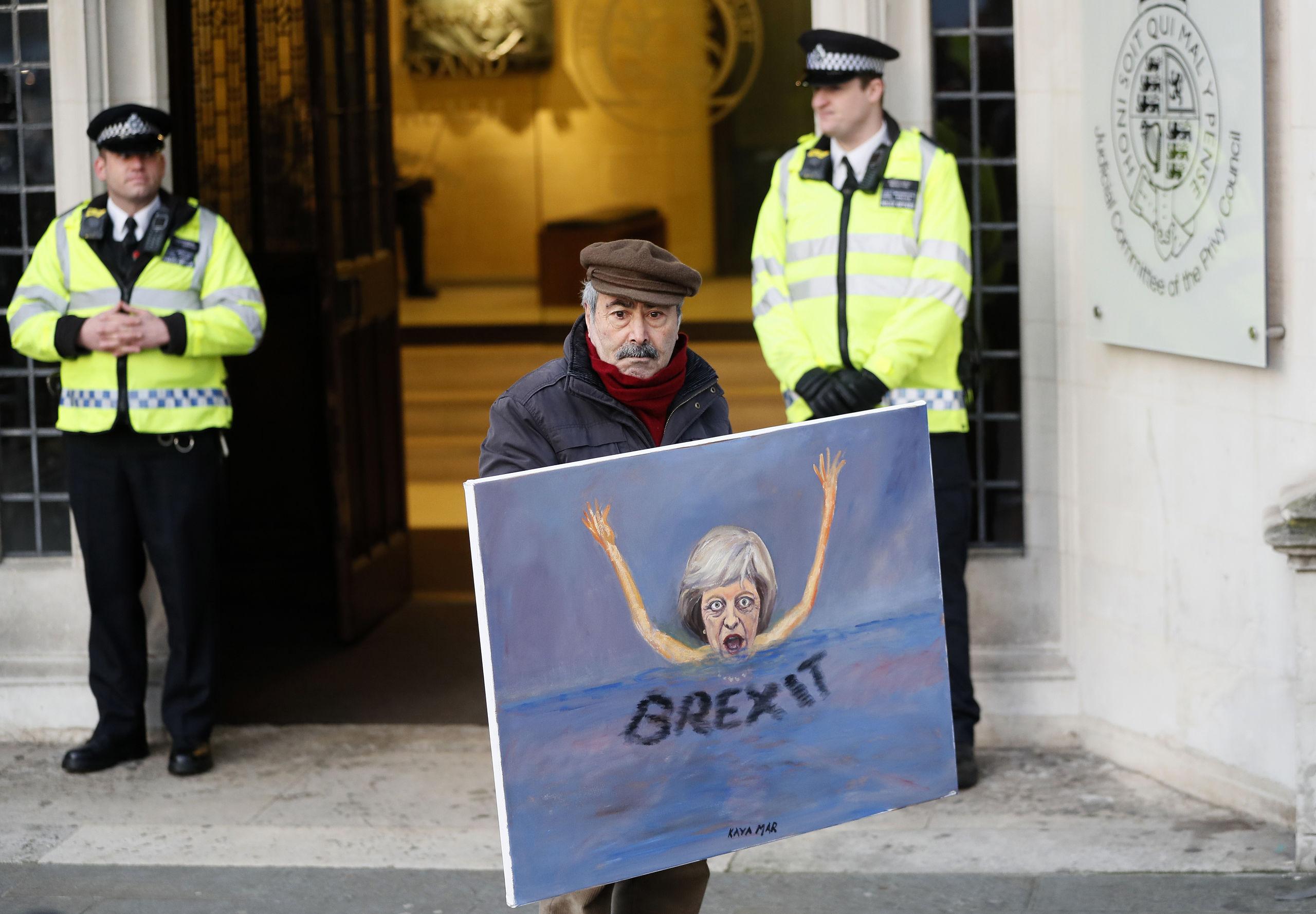 Manga viljor om hur brexit ska ga till