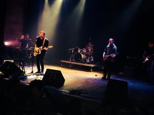 Rockgruppen Karpov i konserthusets stora scen. 79d8d99f4020f