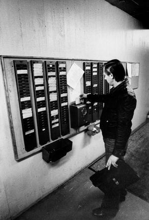 Stämpelur på Asea 1978. Känner du igen det?