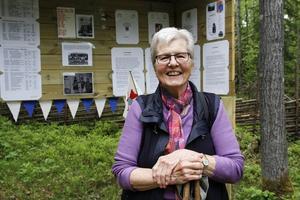 Utomhusutställningen är Marianne Ekbloms hjärtebarn. Många har lagt ned mycket arbete för att göra den möjlig, säger hon.