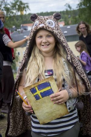 Matilda Edenhag, 10 år, berättar att hon gärna vill gå äventyret igen.