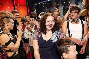 """""""Hon är helt fantastisk!"""" utbrast Bert Karlsson efter att Jill Svensson presenterats som vinnare av Talang 2010."""