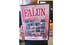 I år är det Falun på 50-talet som speglas i den nya filmen, som inrymmer många gamla filmer som finns bevarade. . Några är från när Runn svämmande över, branden och hur var det egentligen när en fransk film spelades in på Faluns gator. FOTO: ILSE BRAT