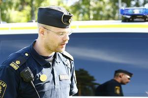 Insatsledare Jocke Sohlberg ledde sökarbetet.