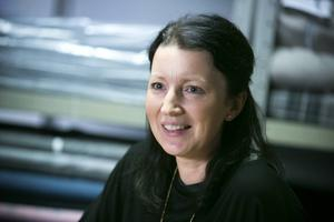Ann-Sofie Morin, vd-dottern som själv blev vd för hattfabriken i Borlänge.
