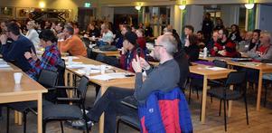 Över 100 personer kom till Tillsammansskapets första kongress som hölls i Smedjebackens Folkets hus.