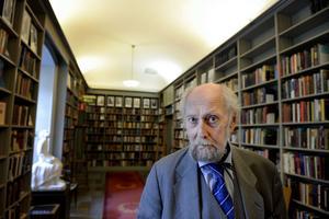 Bilder inför författaren Torgny Lindgrens 75 års firande.