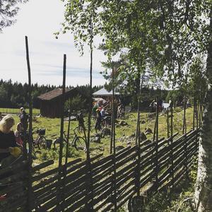 Vi har nu anlänt till den vackra platsen Ranvall.