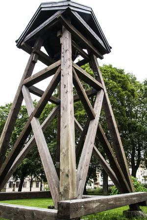Tornklockan blev omgjuten första gången från den gamla, som brann ned i och med rysshärjningarna 1721. Den omgjuts igen 1880, och nyinvigs 1982.