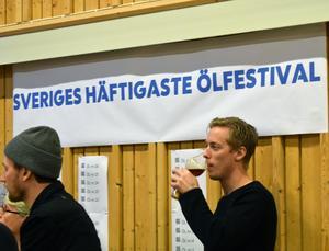 Busslaster från stora delar av Mellansverige kom till Söderbärke i helgen fyllda med ölintresserade människor.