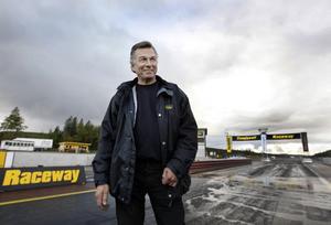 Tommy Edström ser fram emot sommarens stora motorsportarrangemang på Sundsvall Raceway.