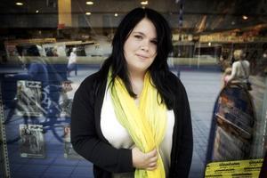 TRIVS MED OMVÄXLING. Emilia Stjernstedt drömmer om ett jobb där hon får komma ut och träffa människor.