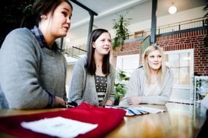 Sara Sätterberg, Elin Röding och Lovisa Kronberg är tre unga och framåt UF-företagare vars affärsidé att sälja räddningspåsar har fallit i god jord. I februari ska de på mässa till Tallin och slutmålet är sedan UF-finalen i Stockholm.