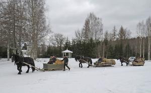 Om det går bra med forkörningen i år kan turen utökas att starta från Furudal nästa gång.