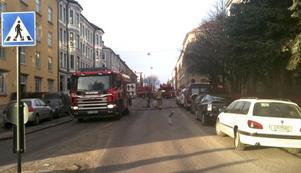 Branden bröt ut i 22-åringens lägenhet på Waldemar Thranes gate.