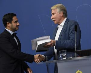 Civilminister Ardalan Shekarabi (S) fick i höstas Ilmar Reepalus delbetänkande.