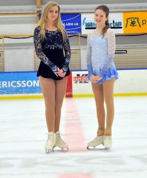 Karin Törnblom och Mathilda Norrbelius vid Castor cup.