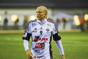 Cassandra Korhonen gjorde sitt 17:e mål i sista omgången av Elitettan.