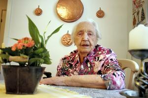 Maria Andersson fyller 100 år och ser fram emot en stor släktträff.