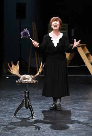 Kim Anderzon gjorde 2010 sin första roll i en Sundsvallsproduktion. Spöket på Canterville