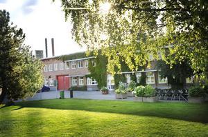 Teknik-, service- och fritidsförvaltningen i Bollnäs kommun har sitt kontor strax intill värmeverket i Säversta.