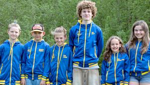 Hugo Rowa, Nathanael Persson , Liam Lawner, Emil Melin, Saga Persson Boström-Fors och Lova Nylén. Fattas gör Amanda Stööp och Sara Larsson.