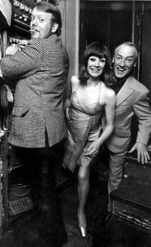 Svante Thuresson,  Lena Hansson, Stig Grybe på Börsen 1969.