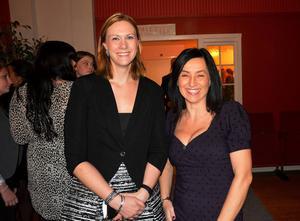 Elin Meijer och Ingela Jonsson representerade Swedbanks färger.