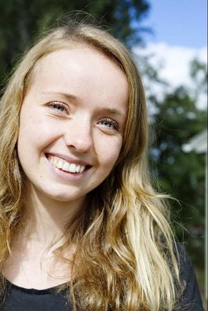 """""""Jag vill vara min egen chef i framtiden, det känns meningsfullt"""", säger Sandra Wennesjö."""