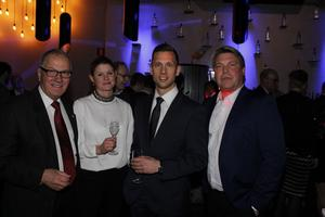 Jan Zetterman, Frida Hyrelius, Andreas Jonsson och Mikael Teurnberg.