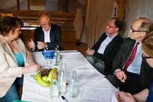 Både politiker och företagare samlades på Stocke Titt när Jämtlandsakademin startade upp Ledarforum.Foto: Ulrika Andersson