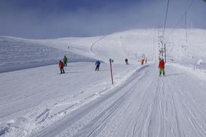 Alpinbacken i Trysilfjellet.