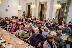 Munskänkarna i Falun är en förening med många aktiva medlemmar.