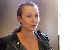 Cristine Persson, tidigare vice ordförande, är ny ordförande för Leader sjö skog och fjäll. Arkivbild.