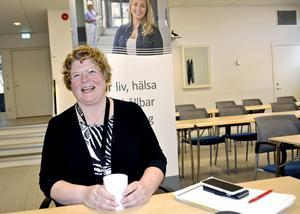 Ingrid Bergström hade den högsta förvärvsinkomsten av alla kvinnor i Västernorrland under 2017.